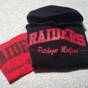 Patchogue Medford RAIDERS gear, Small